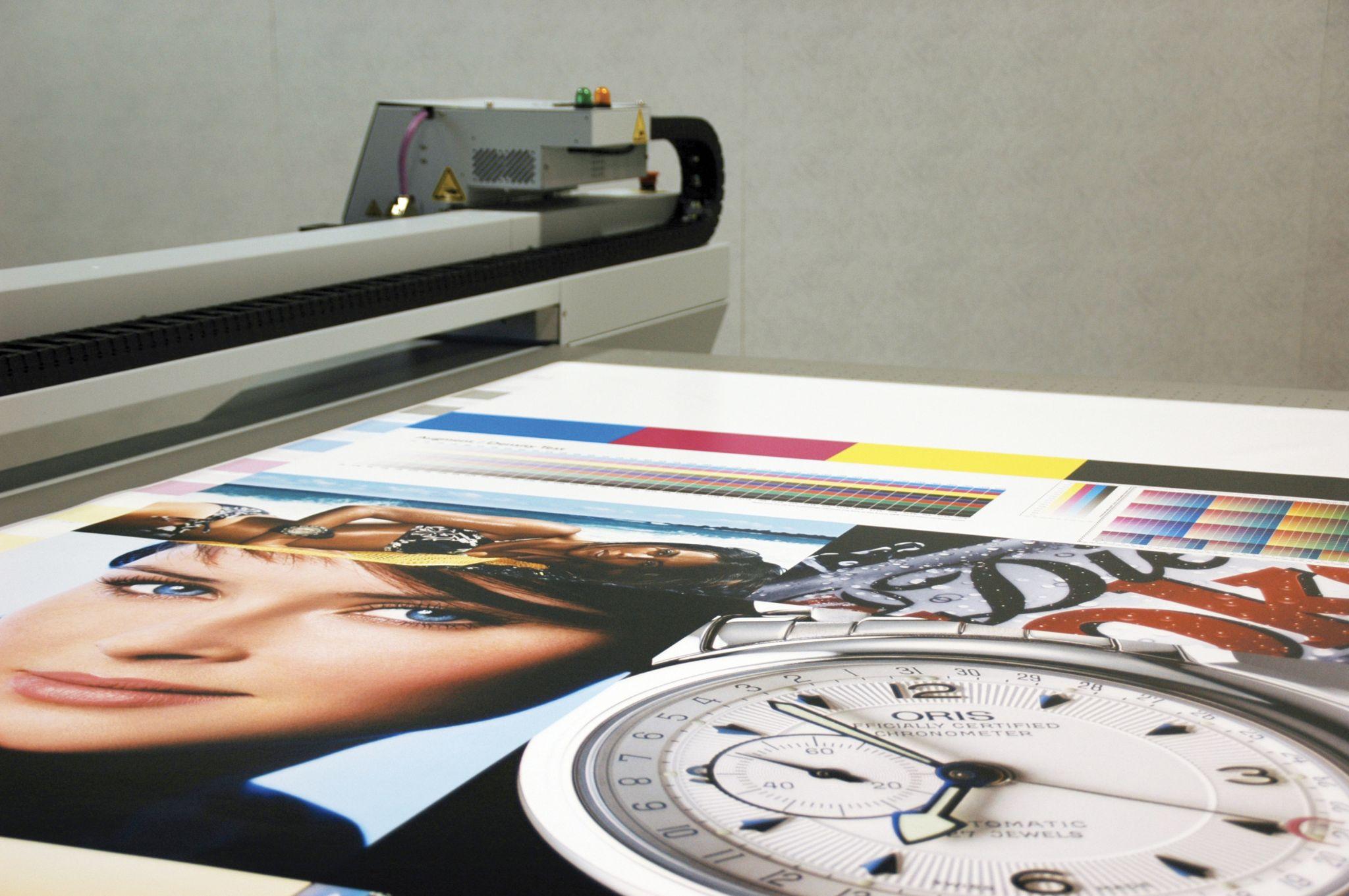 Широкоформатная печать на бумаге в Типографии