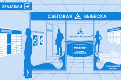 изготовление рекламных конструкций Киев